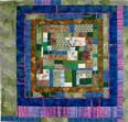 """A Touch Of Amidon"" copyright 2000 - Art Quilt by Dottie Gantt"