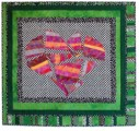 """Crazy Love"" copyright 2001 - Art Quilt by Dottie Gantt"
