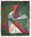 """Villon Interpretation"" copyright 1999 - Art Quilt by Dottie Gantt"